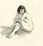 Jewel, Hugging her Knees