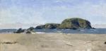 Whaleshead, Oregon, Plein Air Landscape Oil Painting by Sarah F Burns