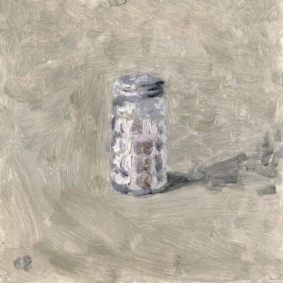 Sea Salt Oil Painting by Sarah F Burns
