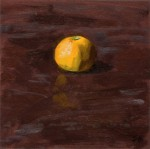 satsuma Fresh Produce Pinup Oil Painting by Sarah F Burns
