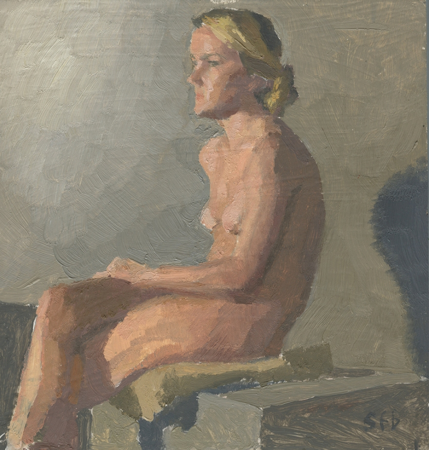 Seated Figure Jacy