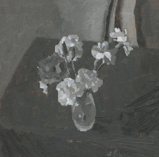 Grayscale Carnations