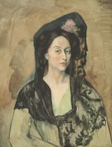 Portrait de Madame Bendetta Canals  Pablo Picasso
