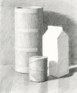 Cylinder and Carton Demo Drawing