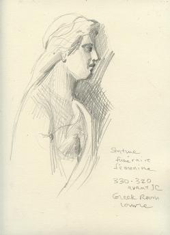 Female Greek Sculpture - Louvre