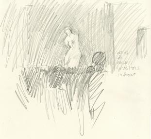 Venus Demilo with Crowds - Louvre