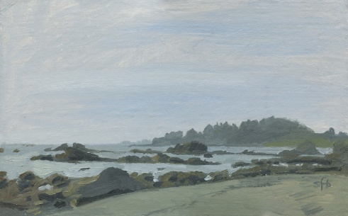 McVay Beach Brookings, Oregon