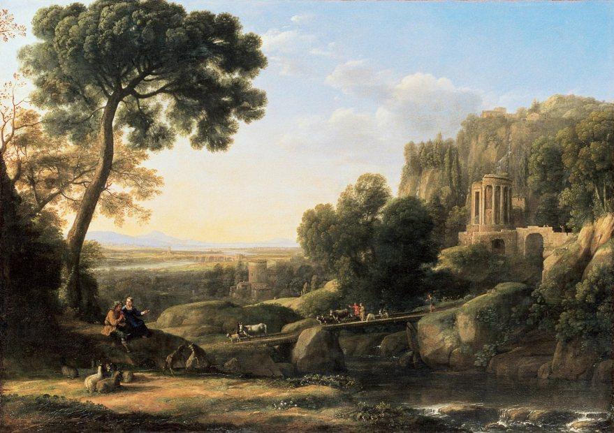 claude lorrain pastoral landscape