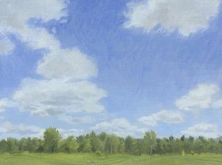 Cumulus Clouds at Lucy Brook Farm