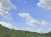 Cumulus Clouds at Presidential Range
