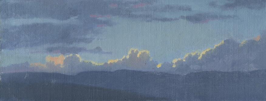 Sunset with Cumulus