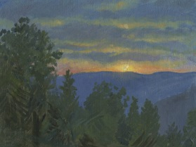 Sunset New Hampshire