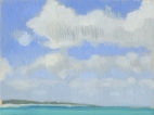 Cumulus Clouds on Providenciales Island Turks and Caicos