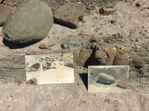 Rock Paintings on Beach Photo Jul 18, 2 17 44 PM
